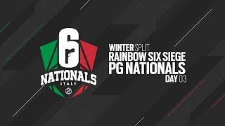 Rainbow Six Siege PG NATIONALS 2019 - Giornata 03 - Winter Split
