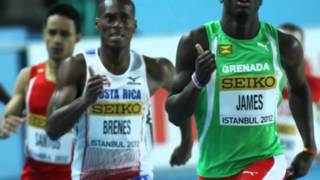 Kirani James Win 400m 2012 London Olympics