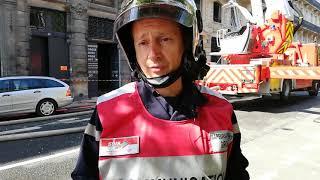 Incendie rue Ferrere à Bordeaux : le point dimanche matin
