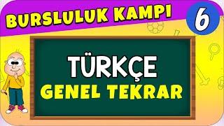 6.Sınıf Türkçe  Bursluluk Sınavı Genel Tekrar
