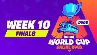 Fortnite World Cup - Week 10 Finals