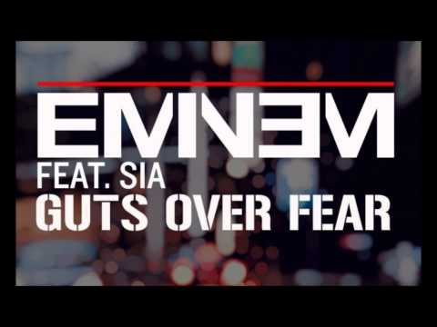 Eminem - Guts Over Fear ft. Sia (NEW 2014)