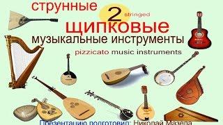 2 Струнные щипковые музыкальные инструменты