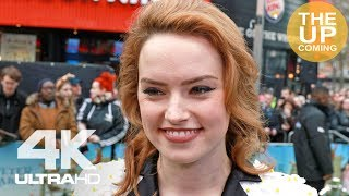 Daisy Ridley interview atPeter Rabbit premiere in London