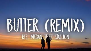 BTS - Butter [Remix] (Lyrics) Ft. Megan Thee Stallion