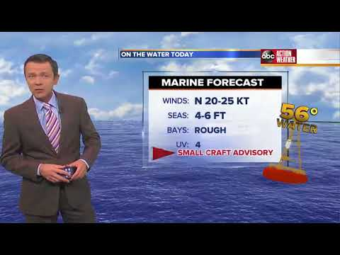 Florida's Most Accurate Forecast with Greg Dee on Wednesday, January 17, 2018