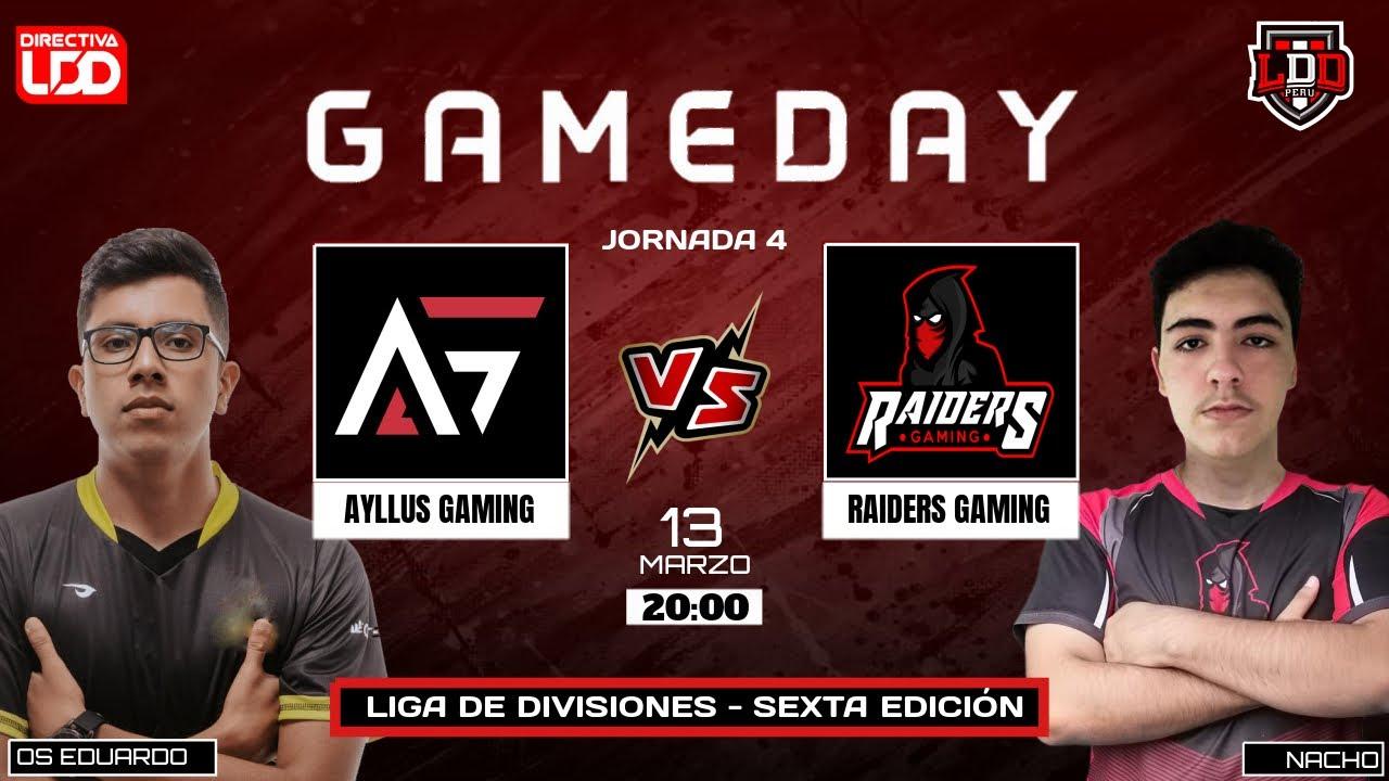 2da Fecha LDD | Raiders Gaming vs Ayllus Gaming  | Nud'eSports vs Tacna eSports
