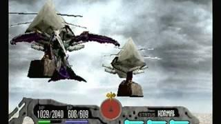 "Panzer Dragoon Saga ""Sub-Boss"" Battle & Enemy Attacks [PAL-60] - Imperial Forces [HD-720p]"