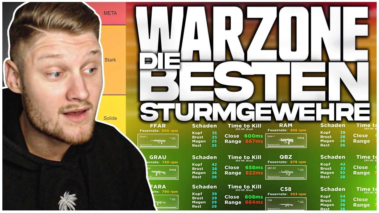 Die BESTEN STURMGEWEHRE in Warzone nach dem RIESEN UPDATE! (Waffen Ranking)