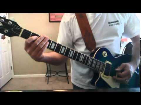 Sweet Child Of Mine Rhythm Guitar Lesson Youtube