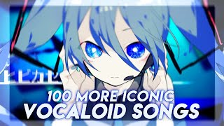 100 MORE Iconic VOCALOID Songs That Every Fan Should Know