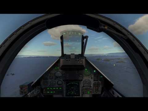DCS 1.5.5 Mirage 2000C Campaign Mission 9: Combat Air Patrol