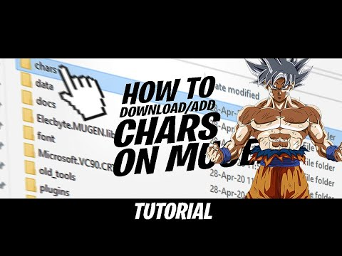 How to Download/Add my chars in Mugen
