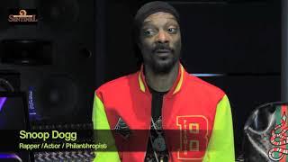 Snoop Dogg talks new gospel album 'Bible of Love' (pt2of 3)