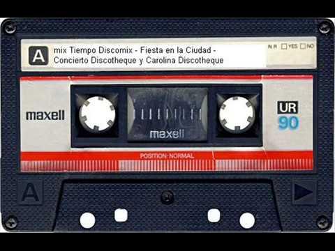 Mix Bailable Tiempo Discomix - Fiesta en la Ciudad - Concierto Discotheque y Carolina Discotheque