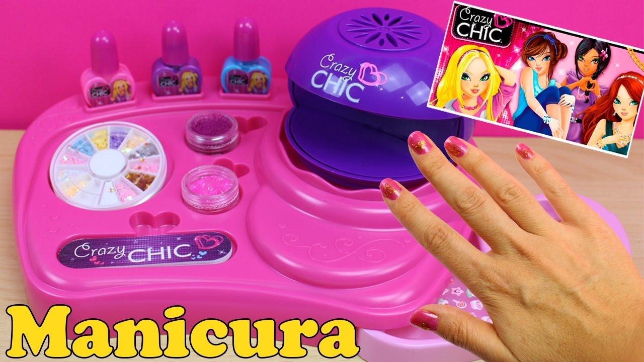 juguetes de manicura para pintar y decorar uas set de manicura para nias spa de manos orbeez youtube