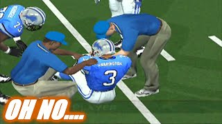 CAN THE BACKUP SAVE THE DAY - ESPN NFL 2K5 LIONS FRANCHISE VS PACKERS - S1W6 EP6