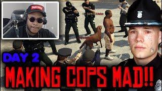 Police VS African Rebel! Serious Roleplay Servers! FiveM Gta 5 Rp RDM
