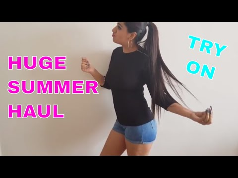 "HUGE SUMMER SALE ""TRY ON"" HAUL 