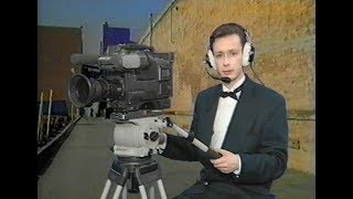 """Анонс программы """"Видеоревю с Игорем Жуковым"""" 90-х годов на канале """"Тонис"""""""