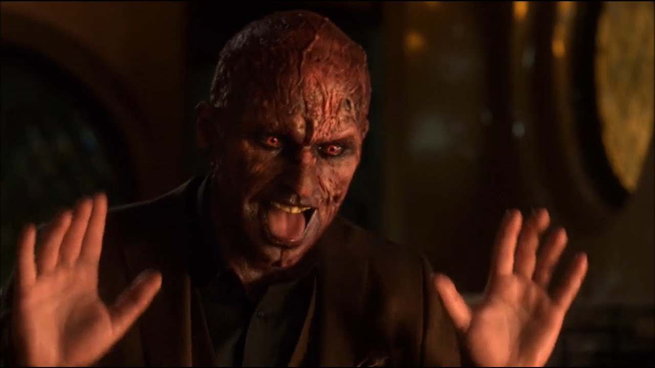 Download Lucifer cheers Charlie up with his devil face - Lucifer 5x06