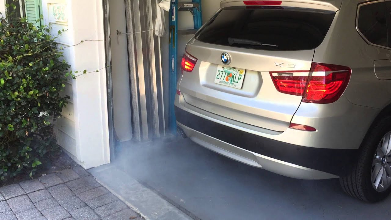 N20 smokes on startup after sitting - BMW 3-Series and 4