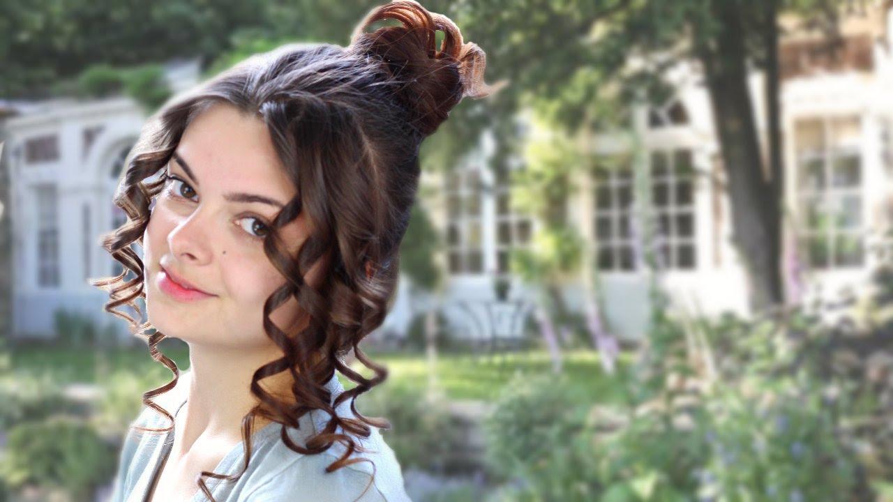 Hair History 19th Century Romanticism Amp Belle 201 Poque