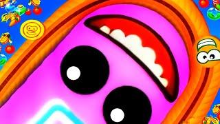 เกมงูสุดมันส์ พิชิตอันดับ1 เวิร์มโซน (WormsZone.io) เกมงูจอมตะกละ เกมงูที่กำลังฮิต screenshot 4
