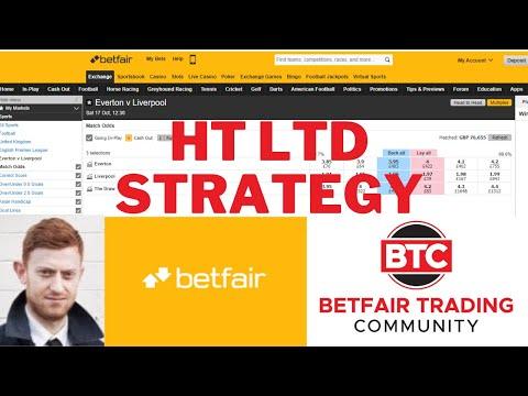 HT LTD Betfair Trading Strategy