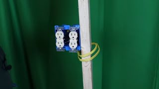 How To Wire A Double Receptacle Two Different Ways - YouTubeYouTube