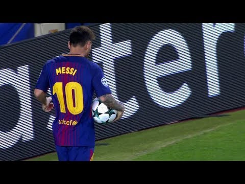Lionel Messi vs Juventus Home UCL (12/09/2017) HD 1080i By IramMessiTV