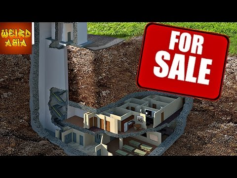 Luxury UNDERGROUND BUNKER For Sale
