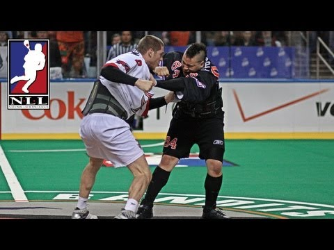 NLL Fights: Chris Corbeil and Brandon Francis Battle it Out