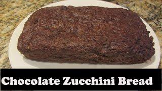 Vegetarian Vegan Chocolate Zucchini Bread Recipe