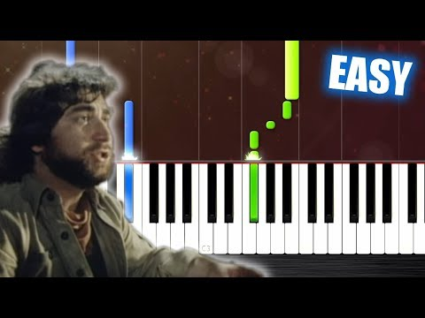 Toto - Africa - EASY Piano Tutorial by PlutaX