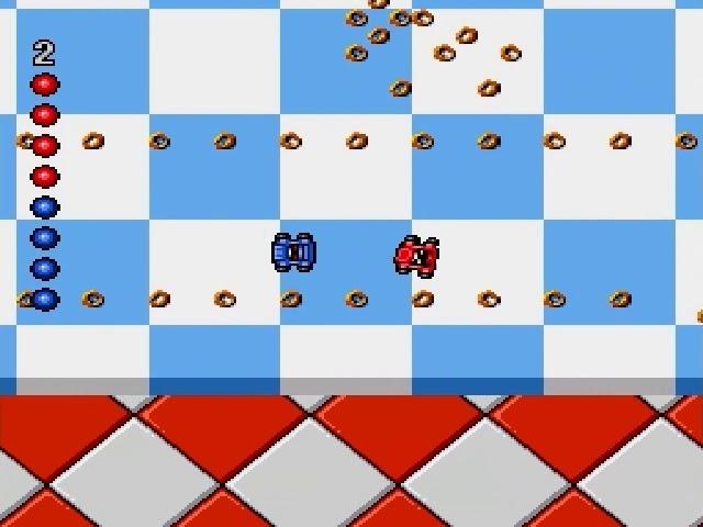 Jouez à Micro Machines sur Sega Megadrive/Genesis