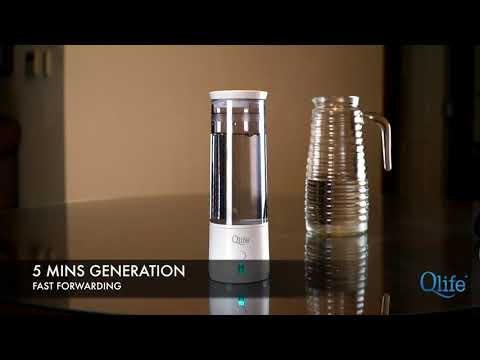 Qlife Q-Cup Hydrogen Enriched Water Generator H2 Test