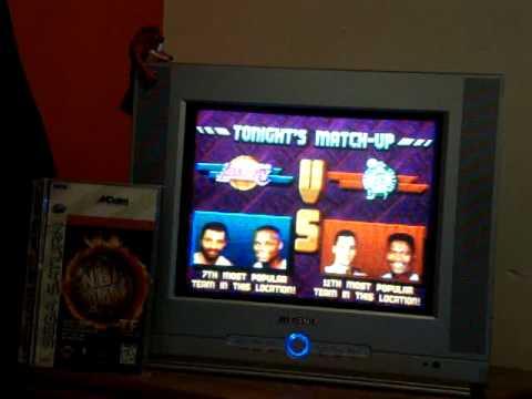 Sega Saturn NBA Jam