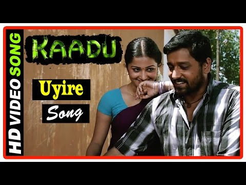 Kaadu Tamil Movie Scenes HD | Samskruthy worried about Vidharth | Uyire Song