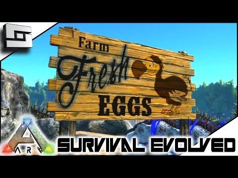 ARK: Survival Evolved - CUSTOM PAINTINGS! S3E70 ( Gameplay )
