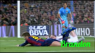 Sergio Ramos vs Gerard Pique Skills Defensing