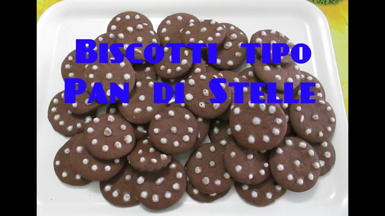Favoloso Biscotti Tipo Pan di Stelle per Intolleranti al Latte Bimby TM5  WI28