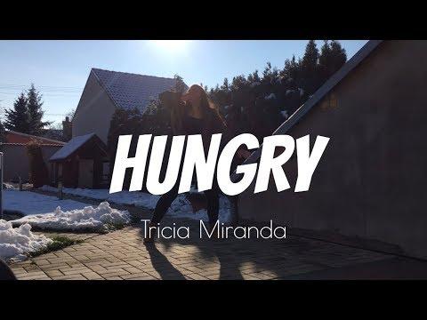HUNGRY - TRICIA MIRANDA CHOREOGRAPHY | GABI CADEN COVER