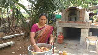nattu kozhi kuzhambu  chicken curry  village food recipes