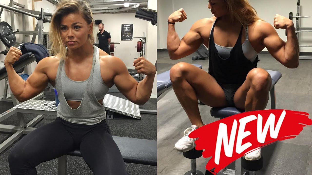 sophie arvebrink best upper body workouts for women fitness gym youtube. Black Bedroom Furniture Sets. Home Design Ideas