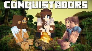Minecraft Conquistadors #1 - Pierwszy dzień na wyspie