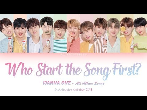 Free Download Wanna One (워너원) 'who Start The Song First?' All Album Songs [distribution Oct 2018] Mp3 dan Mp4