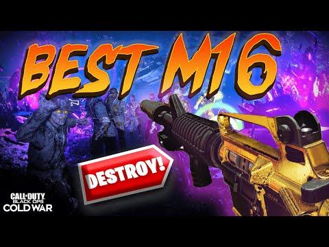 BEST M16 Zombies Class Black Ops Cold War