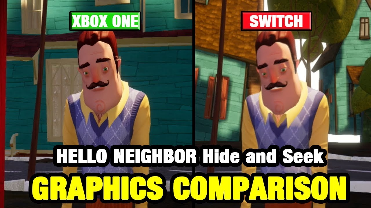 Hello Neighbor Hide Seek Is Now Available For Xbox – Dibujos Para
