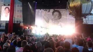 Prāta Vētra (Brainstorm) На заре live 08/06/2013 Даугавпилс